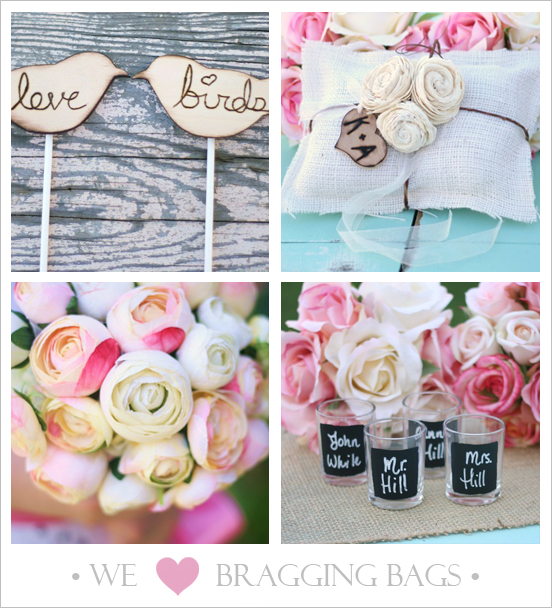 Etsy wedding ideas and inspiration for the upscale Santa Barbara bride.