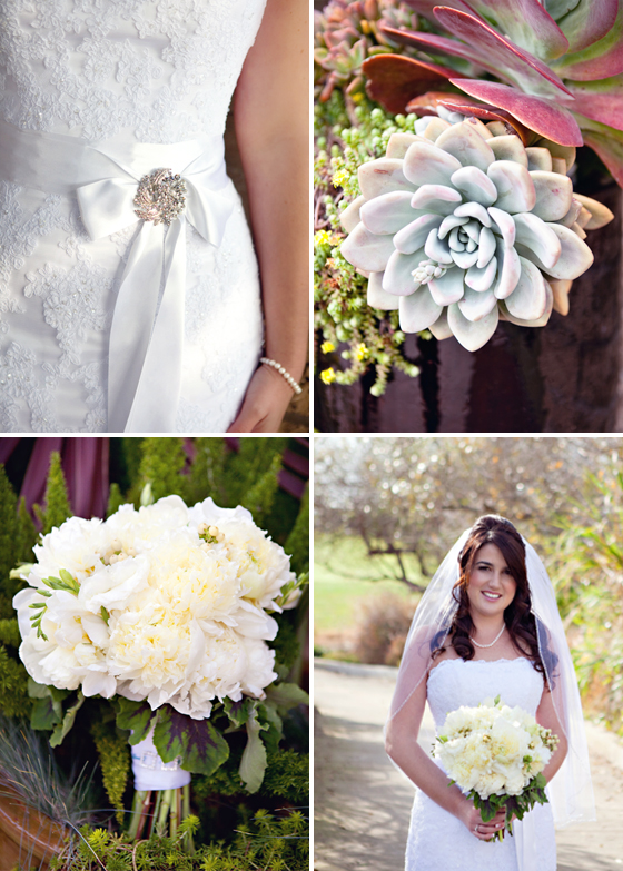 Wedding photographs from a beautiful Santa Barbara wedding at Glen Annie Golf Course, photographed by Lavender & Twine.