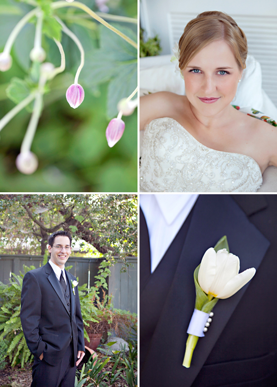 A wedding at the Lavender Inn in Ojai, California.