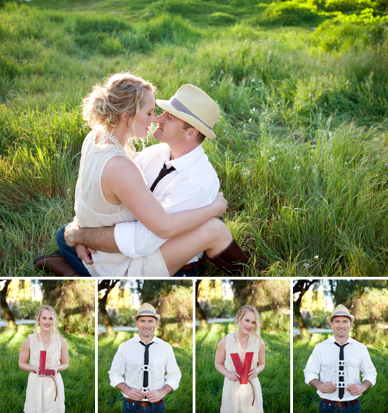 Ojai Engagement Photographs