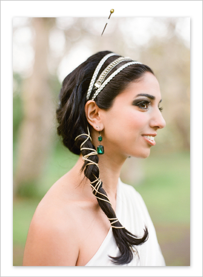 A beatuiful bride photographed by Lavender & Twine, Charming Wedding Photography.