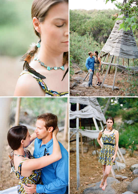 Engagement photographs by Ojai wedding photographers, Lavender & Twine.