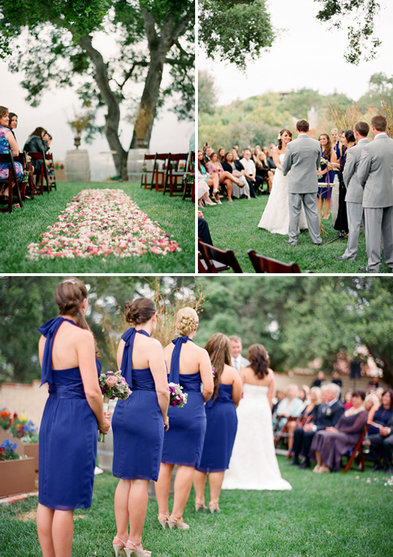 An Ojai wedding photographed by Lavender & Twine.