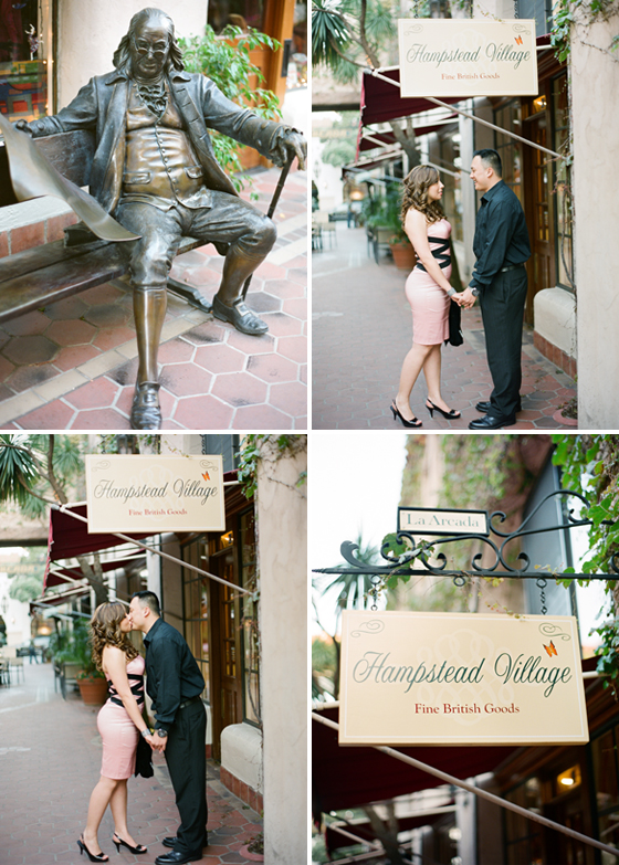 A Santa Barbara Engagement session by Ojai wedding photographers, Lavender & Twine.