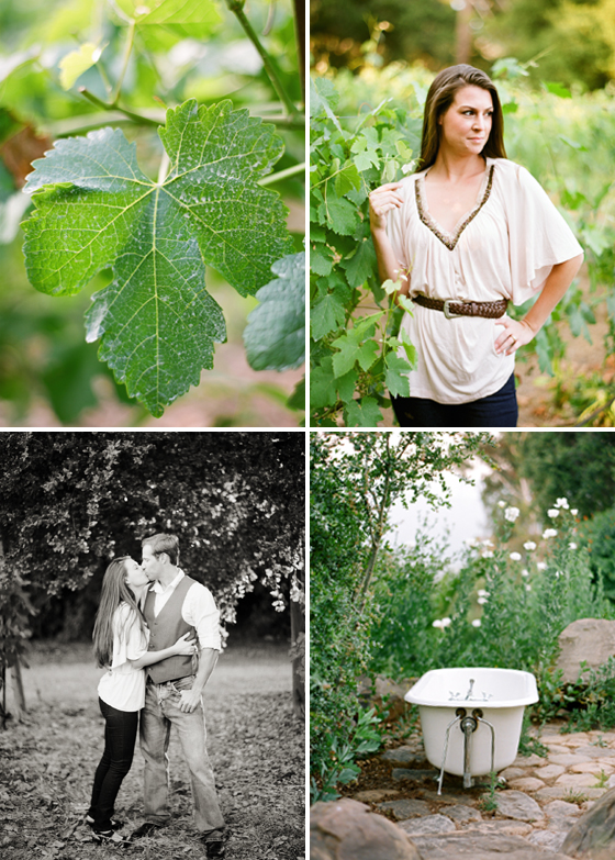 Ojai Engagement Portraits