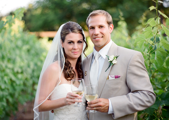 An Ojai vineyard wedding photographed by Lavender & Twine.