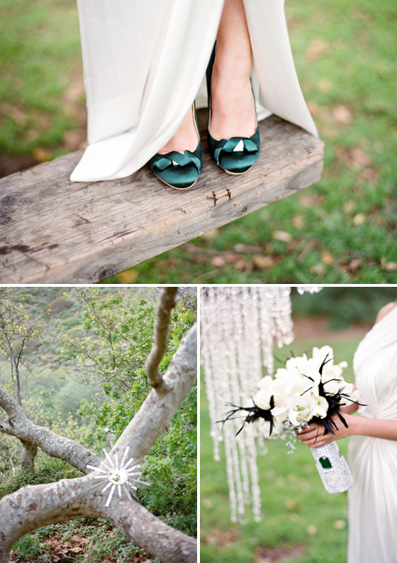 Lavender & Twine's Glamorous Wedding Style Under The Trees