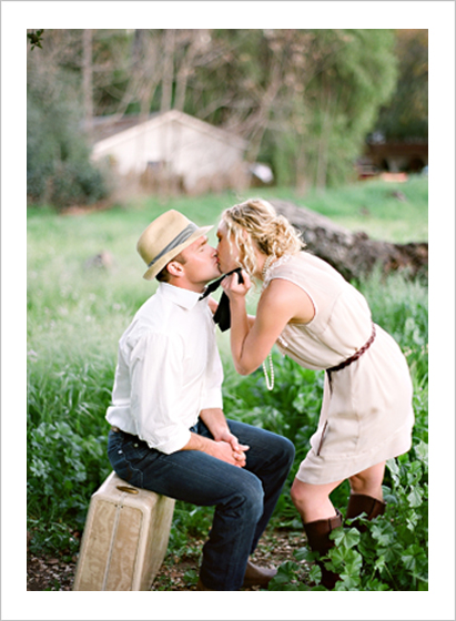 An Ojai engagement session photographed by Lavender & Twine, Charming Wedding Photography.