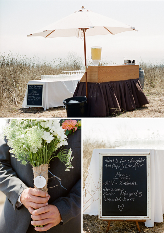 A beautiful wedding at the Orella Ranch in Santa Barbara.