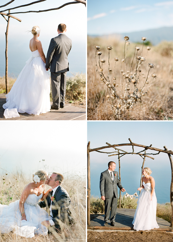 A Santa Barbara wedding by photographers Lavender & Twine.