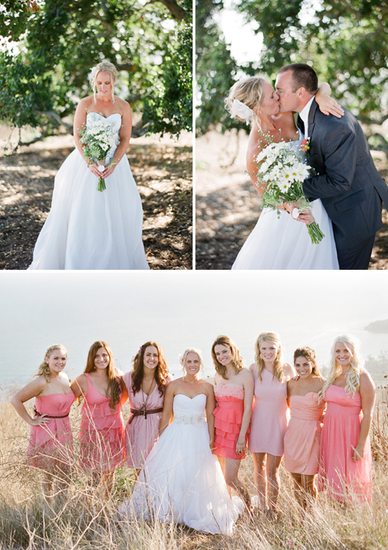 A beautiful wedding at the Orella Ranch in Santa Barbara