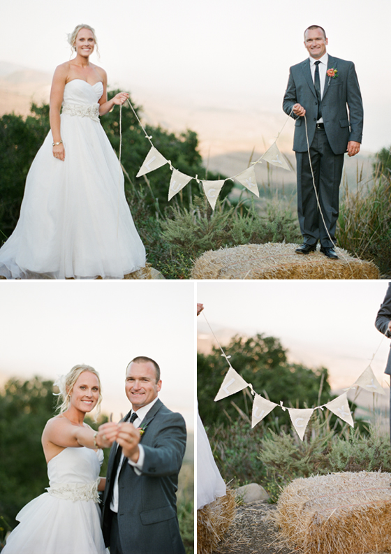 A Santat Barbara wedding by photographers Lavender & Twine.