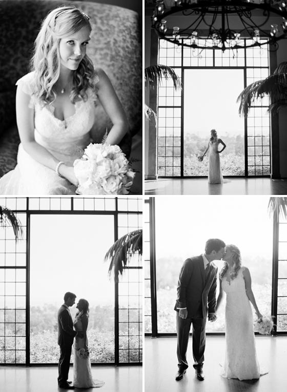 Black & White film images taken at the Montecito Country Club.