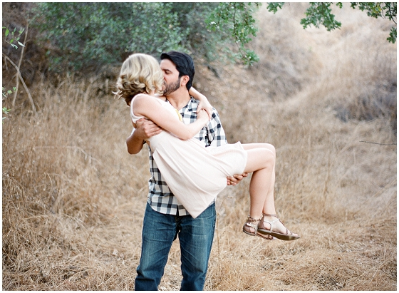 An engagement session at Paramount Ranch by Malibu wedding photographers Lavender & Twine.