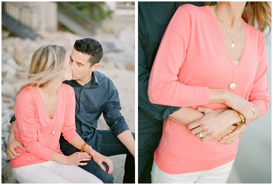 A Malibu engagement session by Malibu wedding photographers, Lavender & Twine.