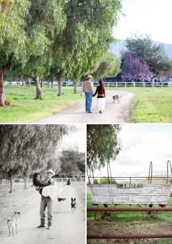 Santa Ynez engagement photographs