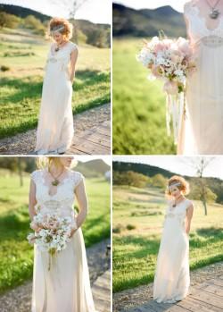 Figueroa Mountain Farmhouse Wedding Images.