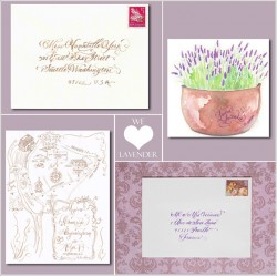Lavender wedding ideas and inspiration.