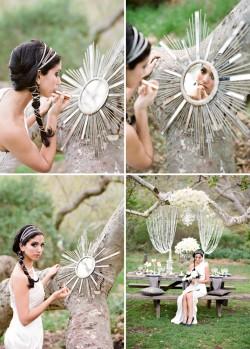 Lavender & Twine--Glamorous Wedding Style Under The Trees