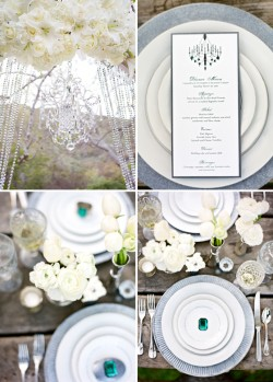 Lavender & Twine's Glamorous Wedding Style Under The Trees