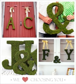 Etsy finds for a personalized wedding details.